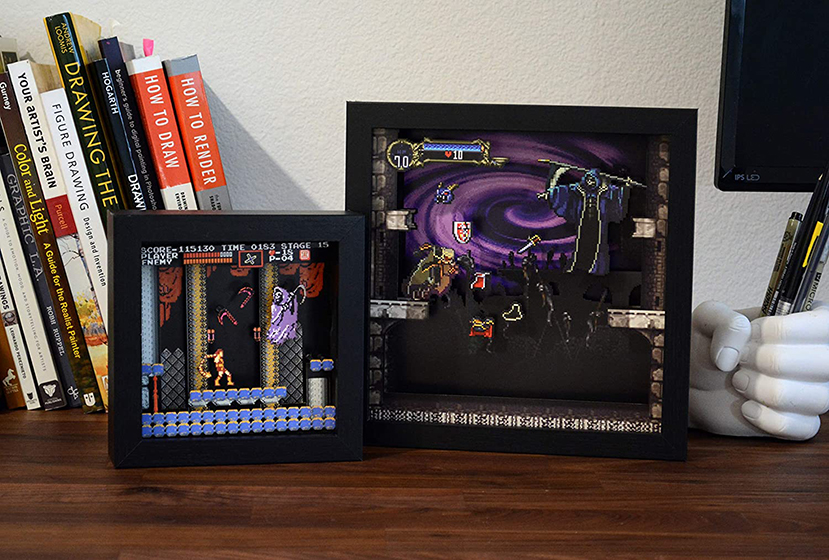 Pixel Frames - Castlevania
