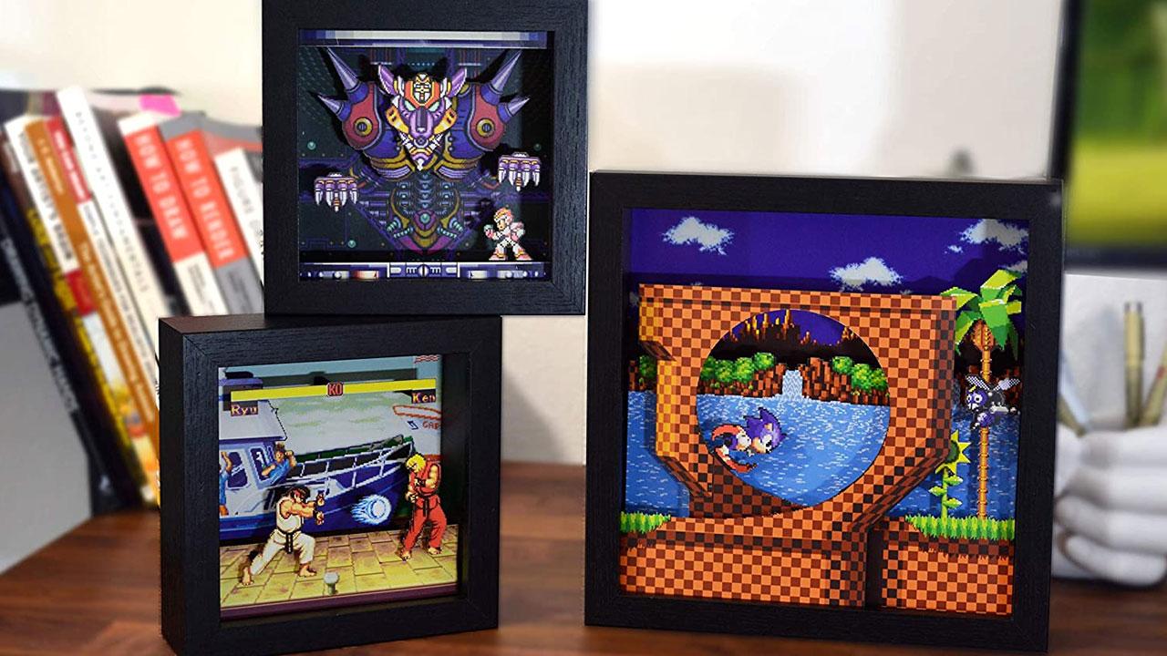 Pixel Frames, el adorno perfecto para el Retro Gamer que llevas dentro