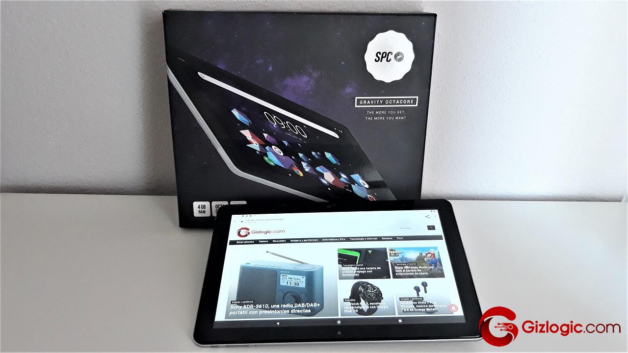 SPC Gravity Octacore, probamos esta tablet android de 10,1″
