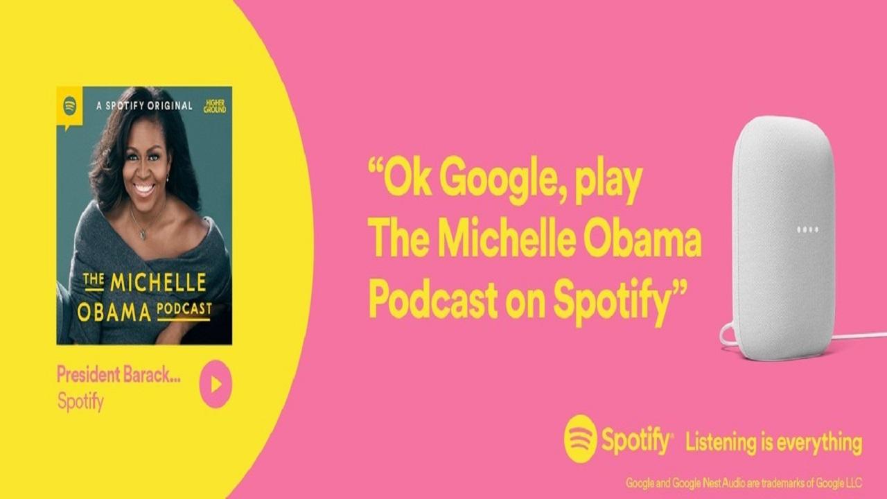 reproducir un podcast en spotify en el asistente de google