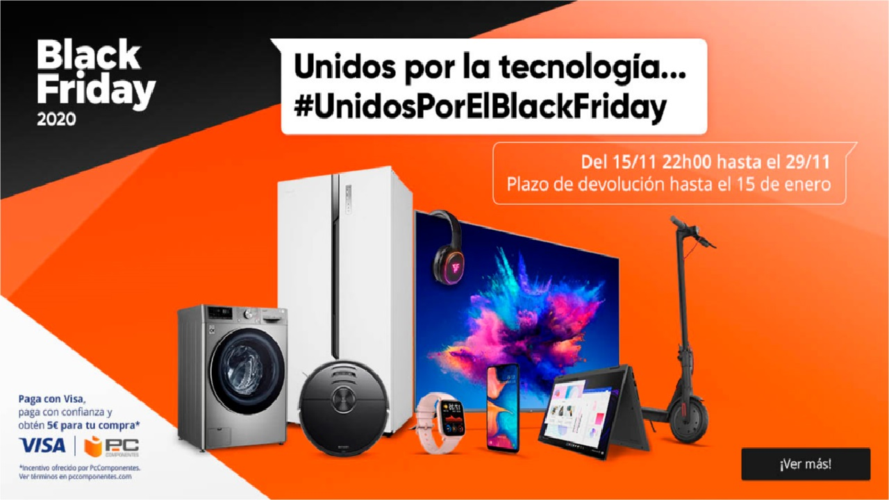 black friday de pccomponentes