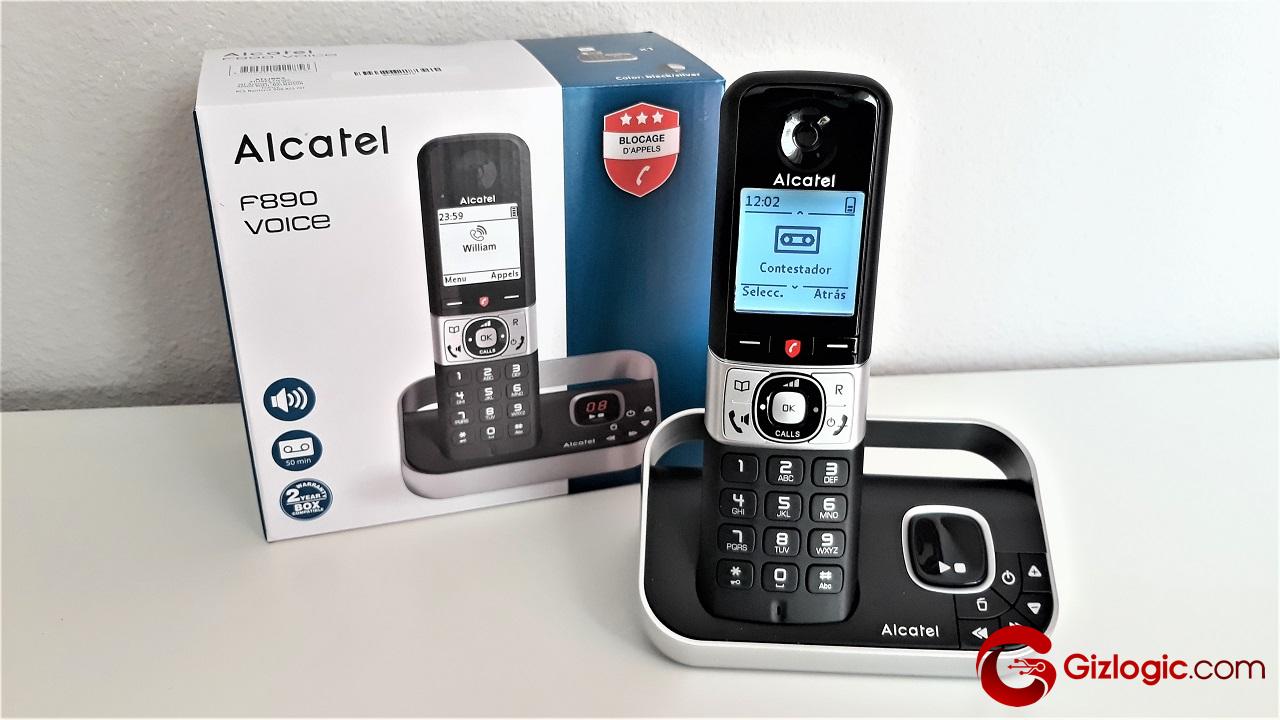 Alcatel F890, probamos este teléfono inalámbrico con bloqueo de llamadas