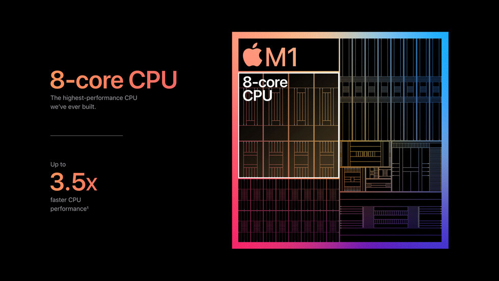 Apple M1 - CPU