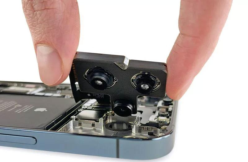 Cámaras del iPhone 12 Pro Max