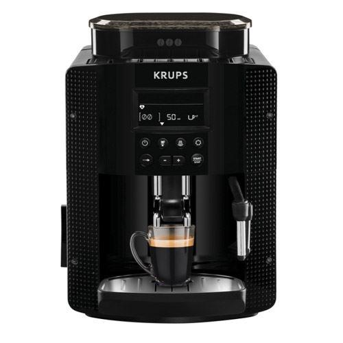 Cafetera superautomatica Krups Pisa Negro