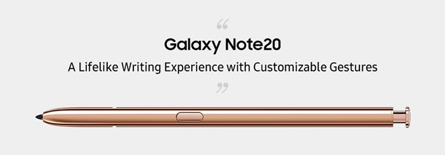 Galaxy Note 20 y el nuevo S Pen