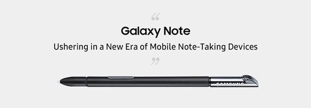 Galaxy Note y S Pen