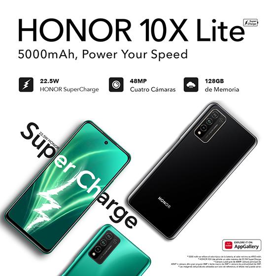 Honor 10X Lite - Especificaciones