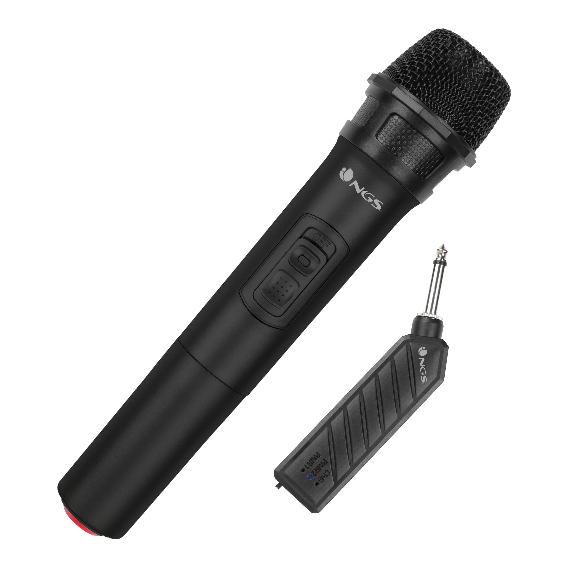 NGS Singer Air - Micrófono y Receptor
