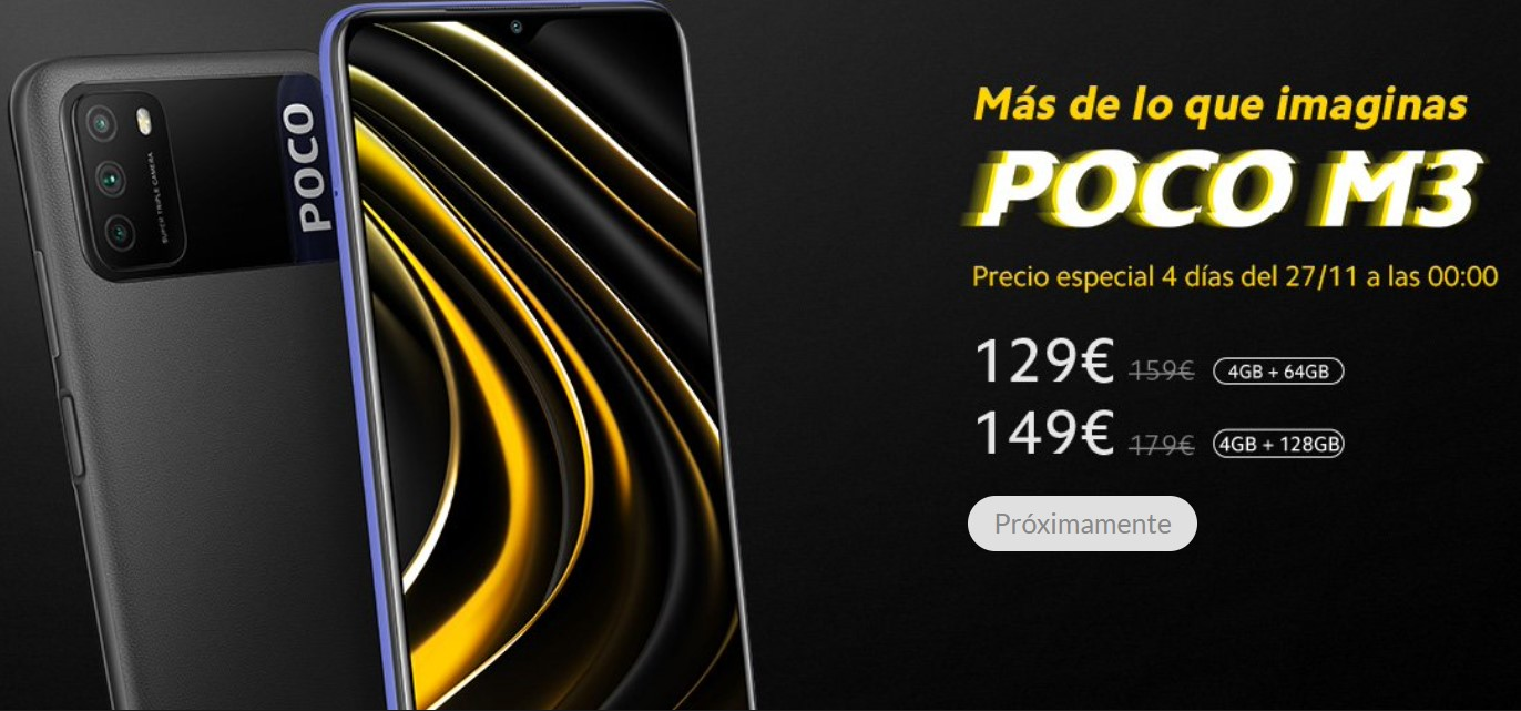 POCO M3 - Precio