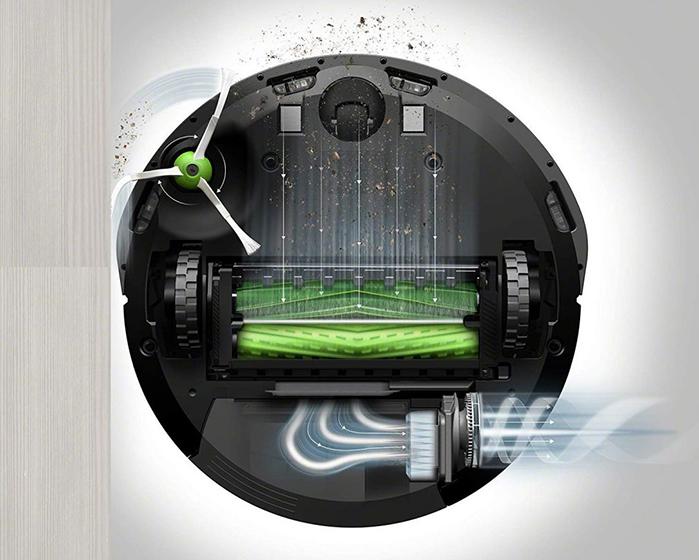 Roomba E5158 - Sistema de limpieza