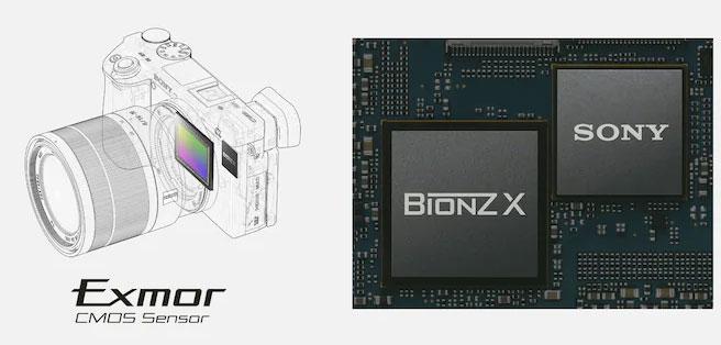 Sensor CMOS ExmorTM de 24,2 megapíxeles