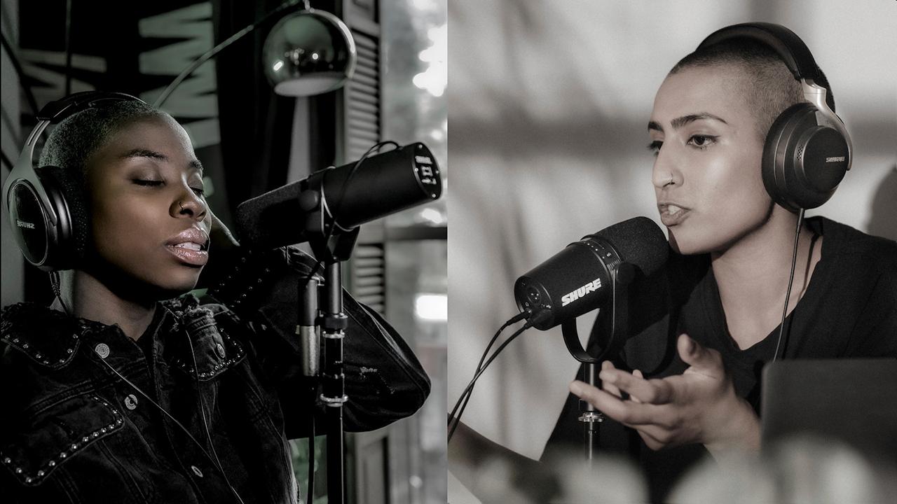Shure presenta su nueva gama de auriculares Aonic y micrófonos profesionales