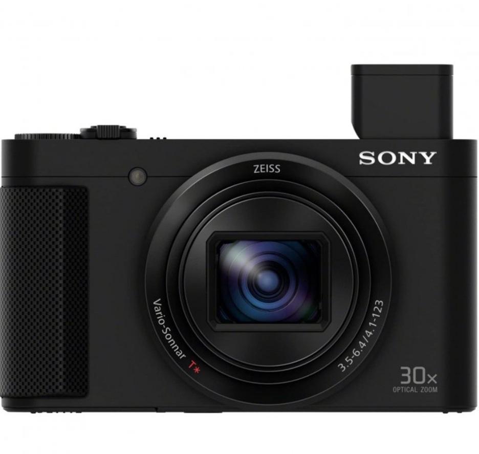 Sony HX80 - Diseño frontal