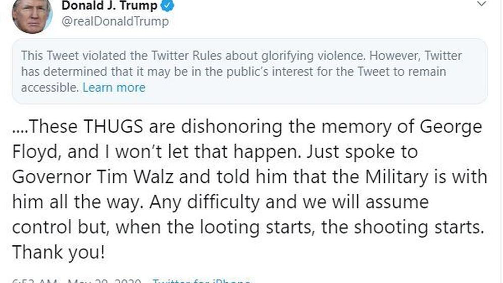 Donald Trump perderá su pase libre de Twitter muy pronto