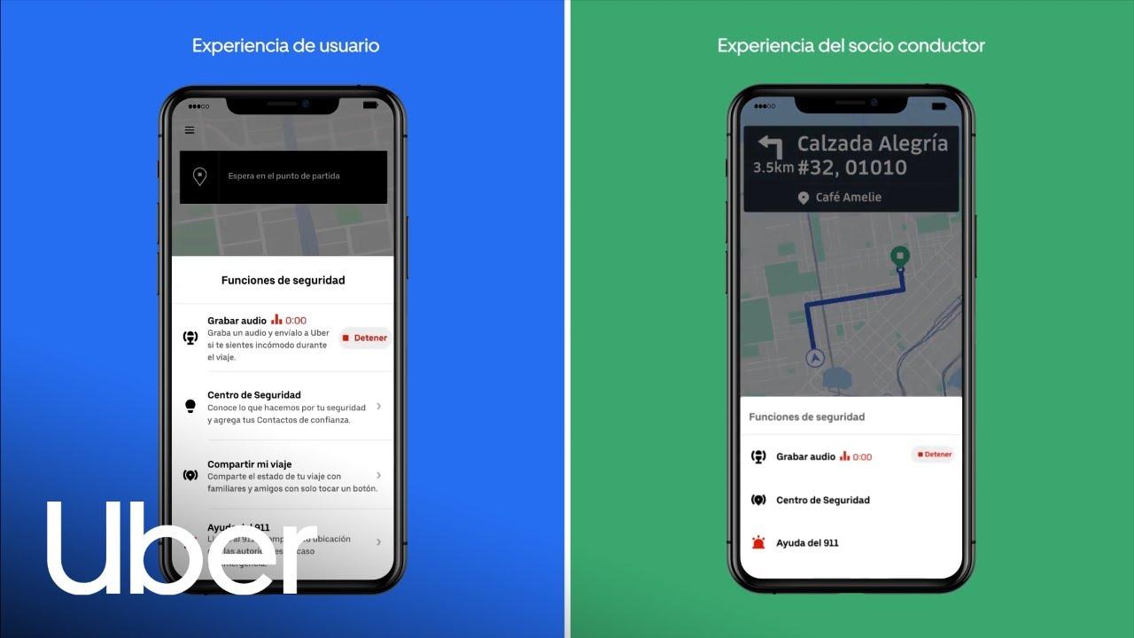 Uber añade grabación de audio como nueva función de seguridad