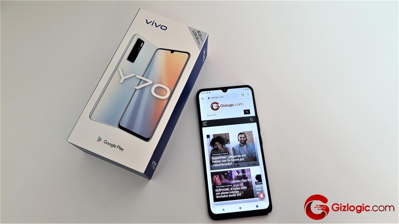 Vivo Y70, probamos este smartphone de gama media