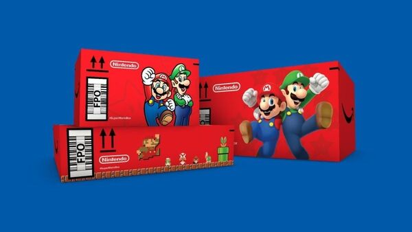 caja super mario amazon