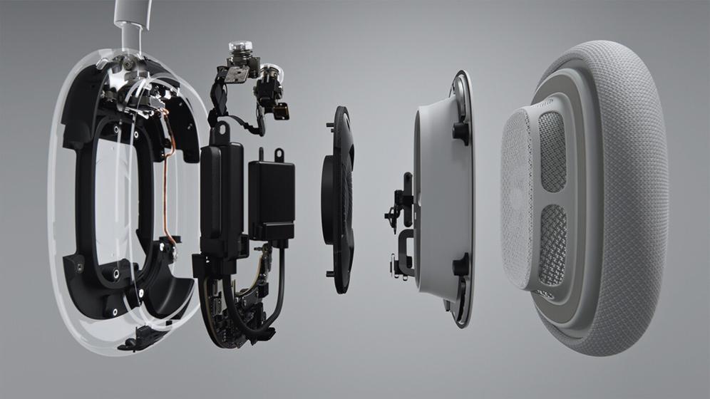 AirPods Max - Controlador de 40mm