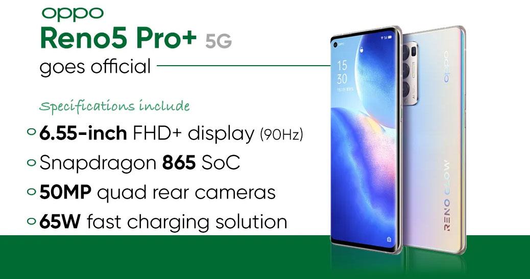 Oppo Reno5 Pro+ 5G - Hardware y características