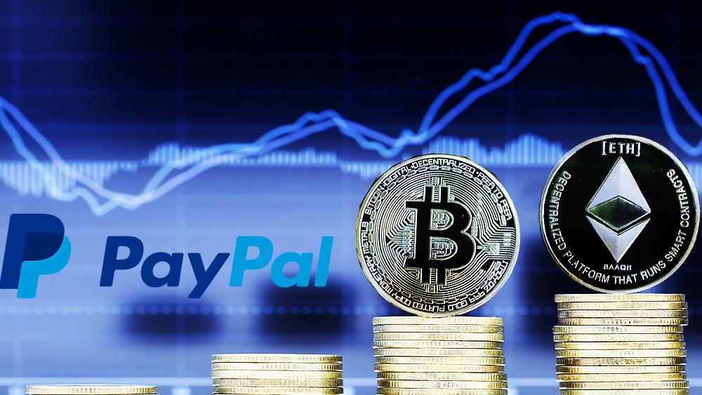 Paypal - Adopción de Bitcoin y otras criptomonedas