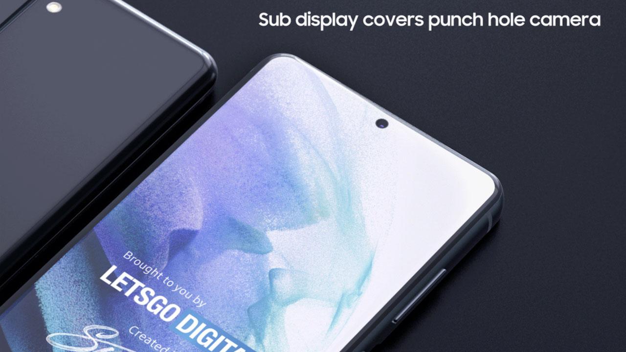 Samsung patenta un móvil con subpantalla que oculta la cámara frontal