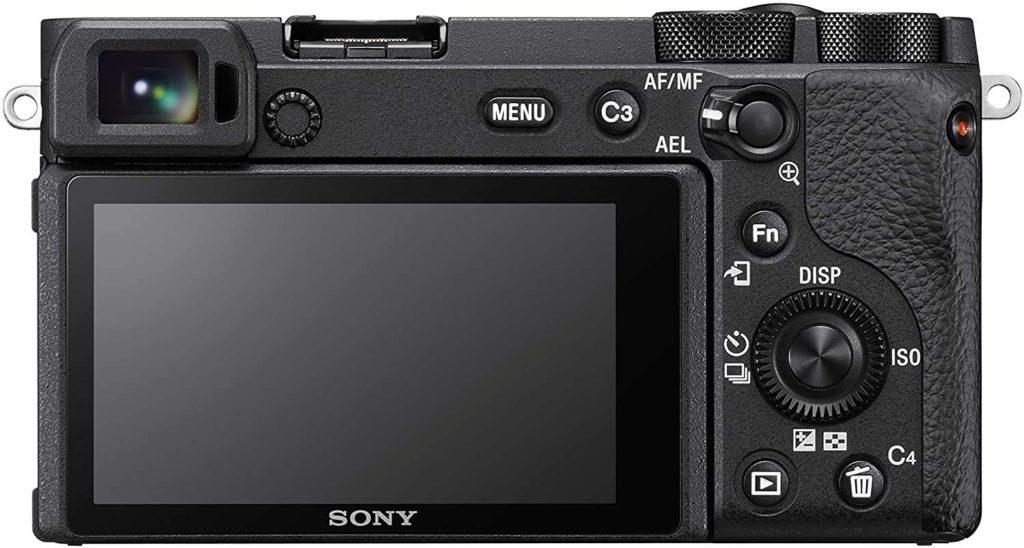 Sony A6600 - Parte trasera