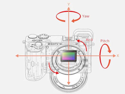 Sony Alpha 6600 - Estabilización de imagen de 5 ejes