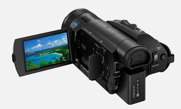 Sony FDR-AX700 - Diseño