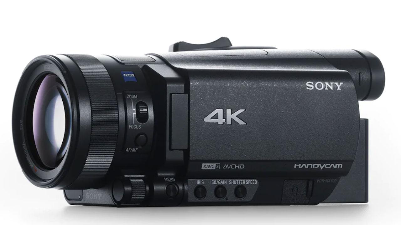 Sony FDR-AX700, captura el mundo como lo ves con esta videocámara 4K