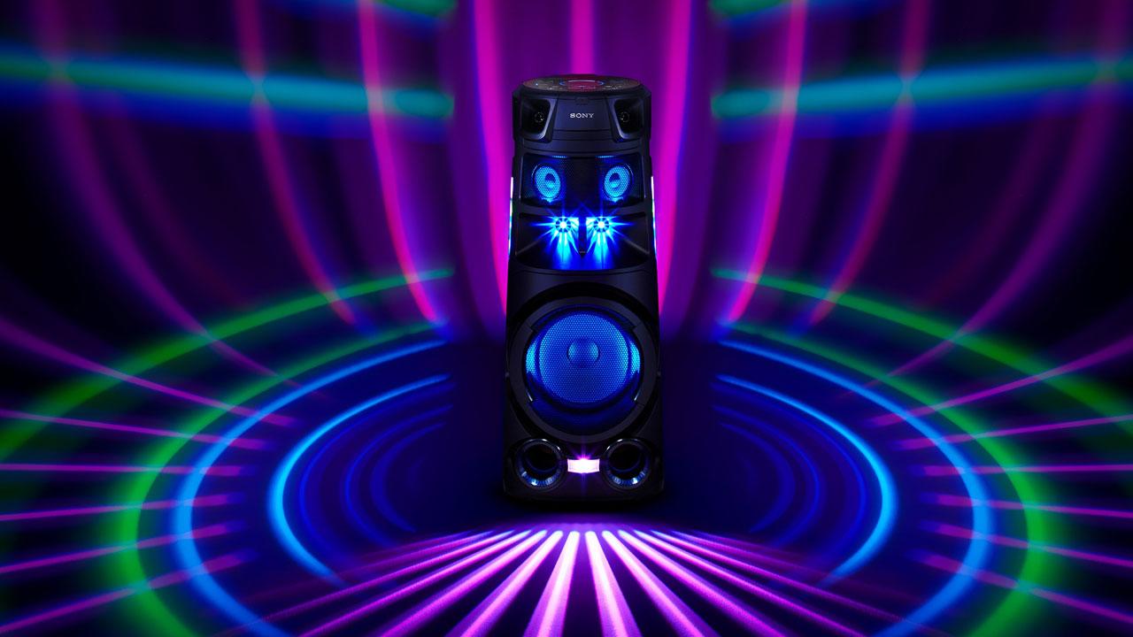 Sony MHC-V83D - Destacada