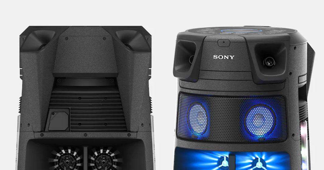 Sony MHC-V83D - Diseño