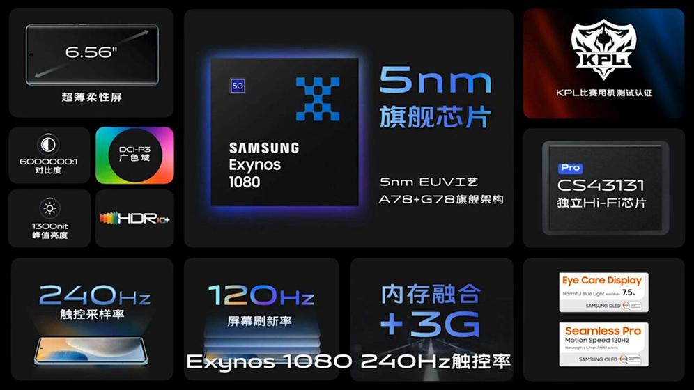 Vivo X60 - Especificaciones