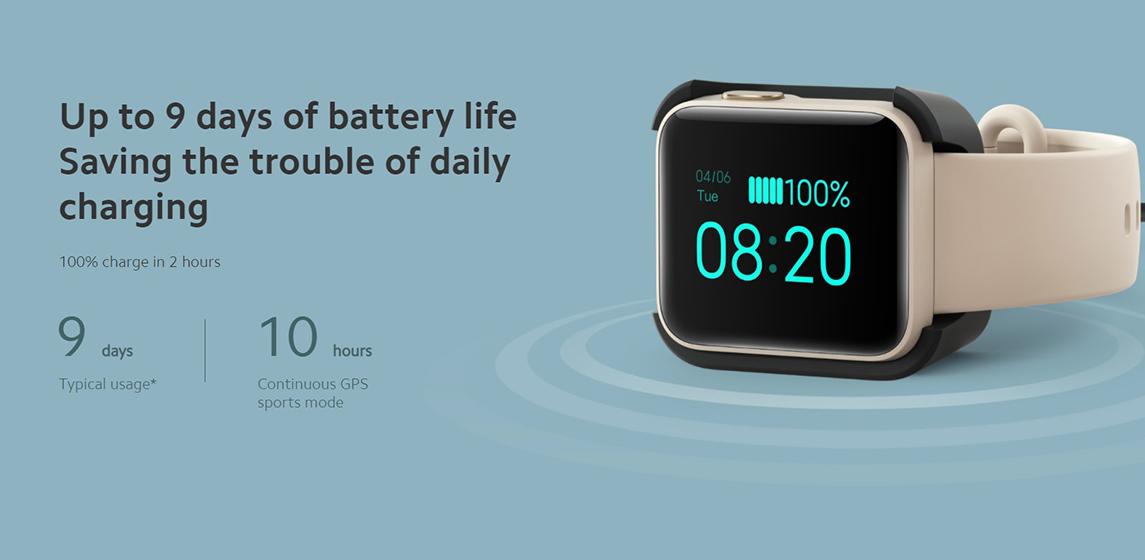 Xiaomi Mi Watch Lite - Autonomía