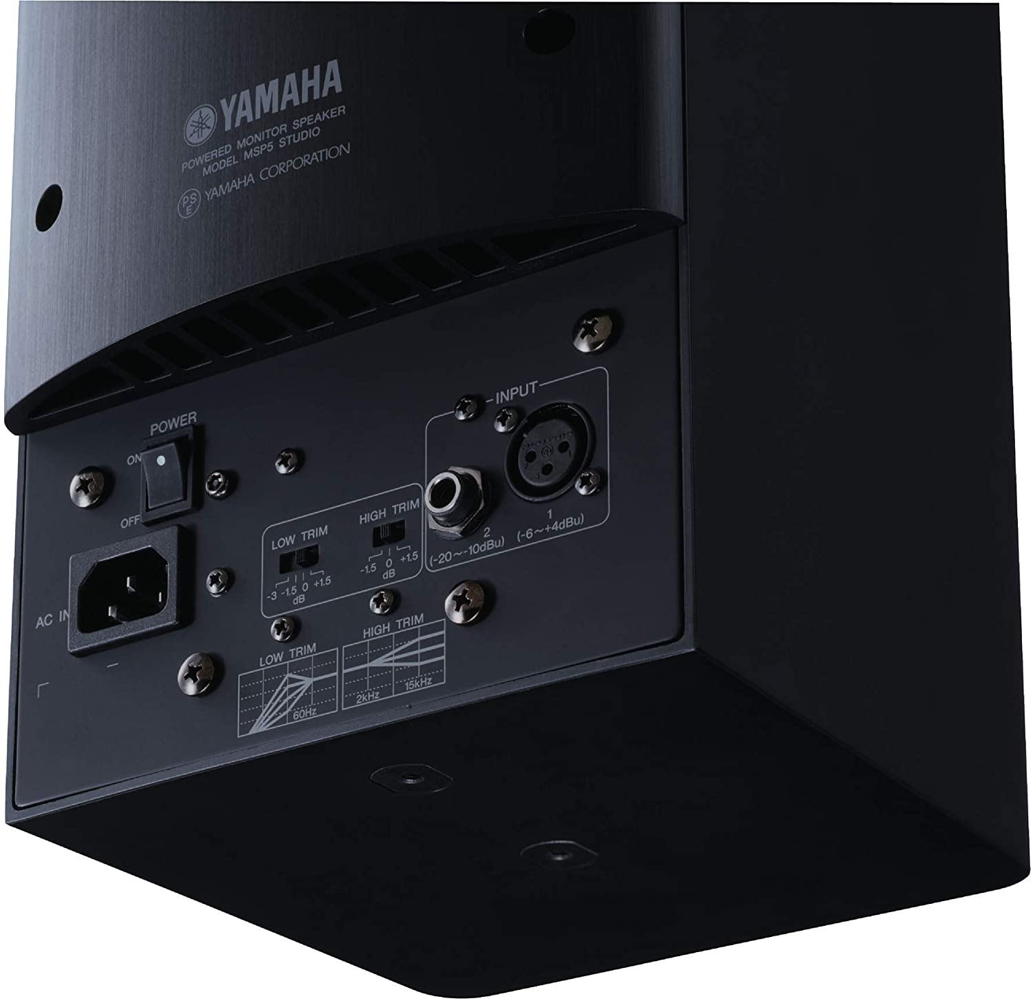 Yamaha MSP5 Studio - Interfaces