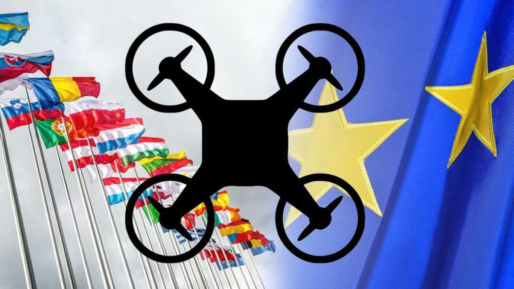 Nuevas categorías operacionales para Drones en Europa
