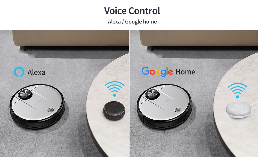 Proscenic M6 Pro - Control por voz