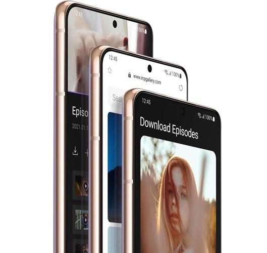 Samsung Galaxy S21 - OS