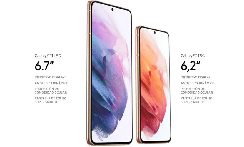 Samsung Galaxy S21 - Pantalla