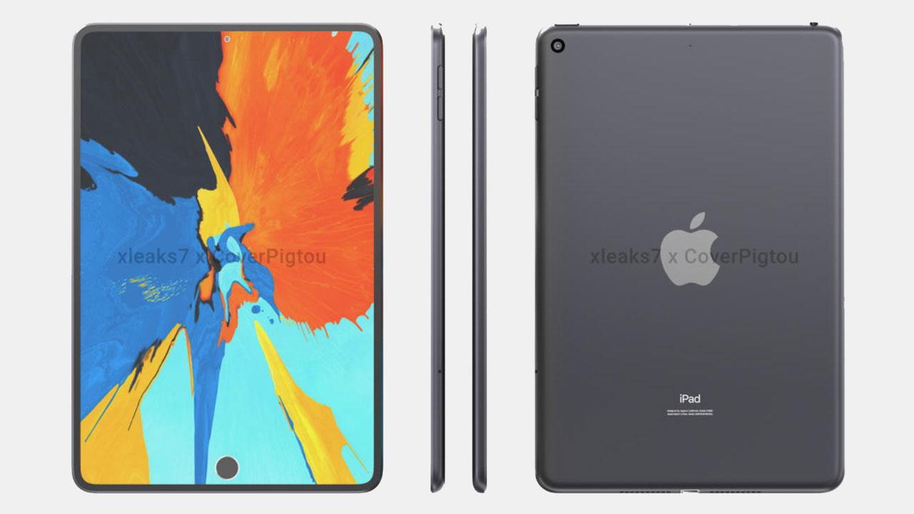 Se filtra el iPad Mini 6 de Apple con pantalla perforada y Touch ID