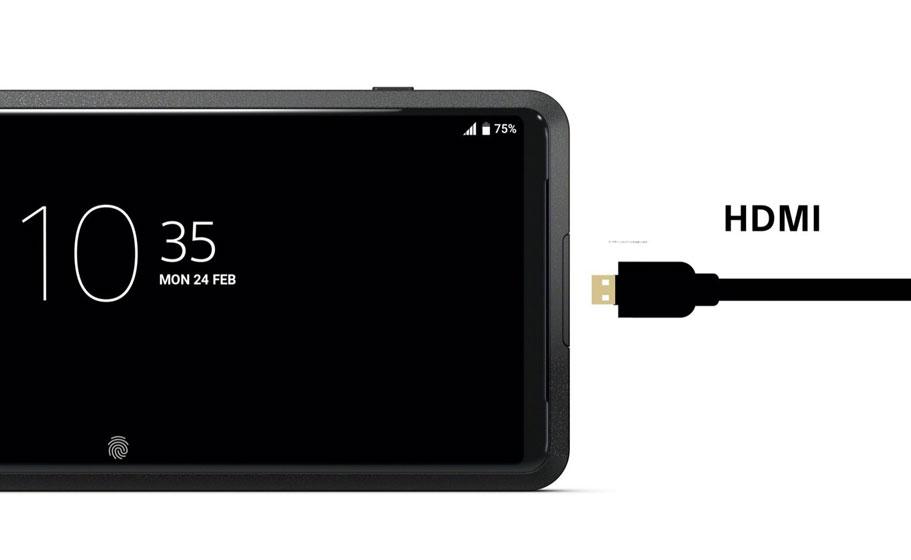 Sony Xperia Pro - HDMI
