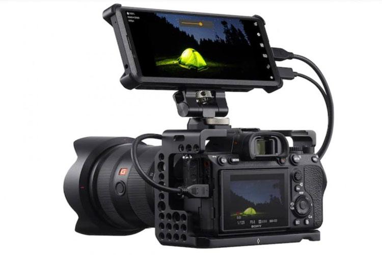 Sony Xperia Pro - Pantalla