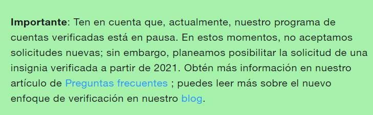 Verificación 2021