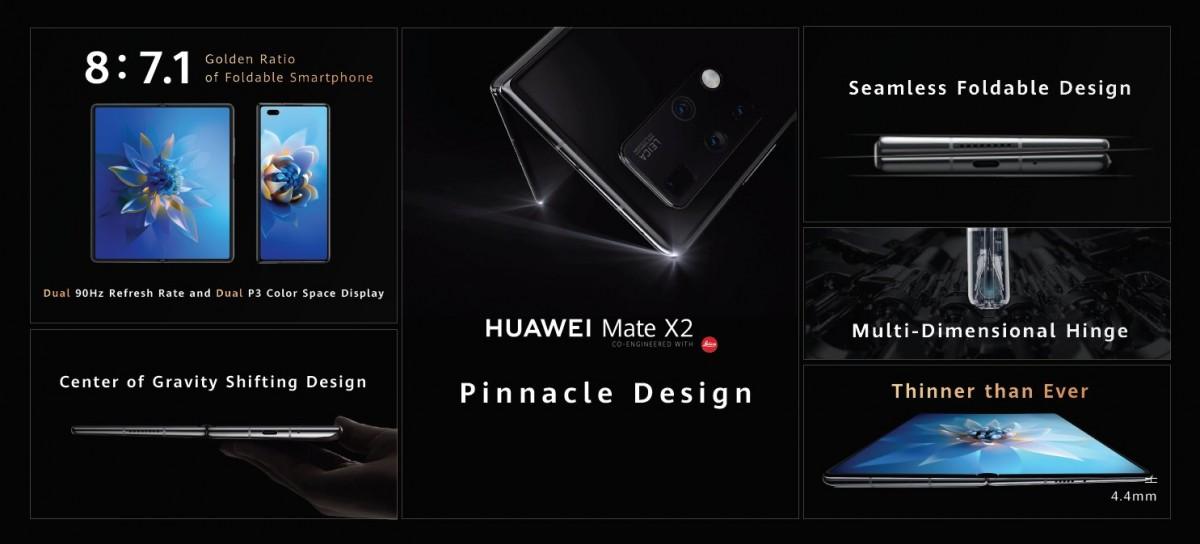 Huawei Mate X2 - Pantalla
