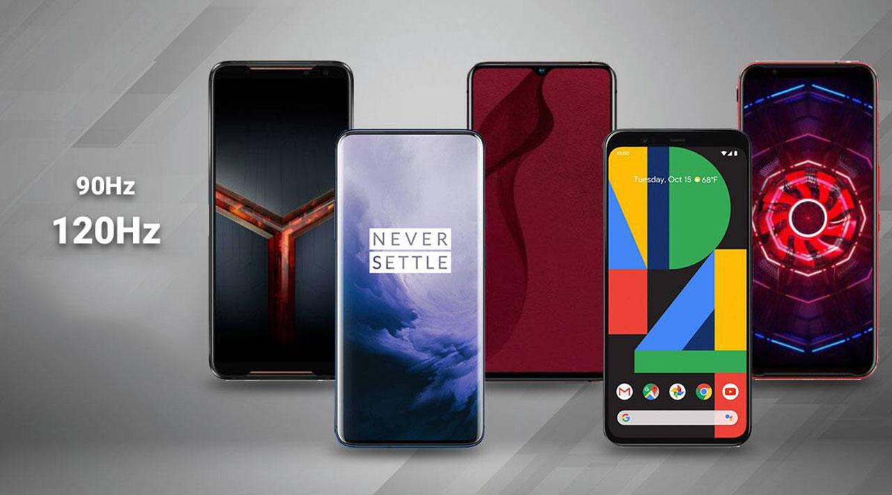Los mejores móviles con pantalla de 120Hz