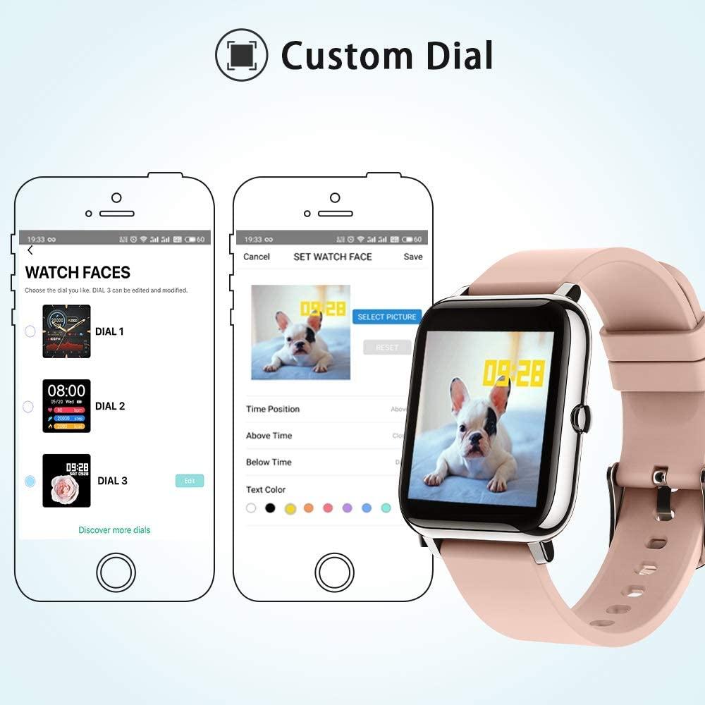 Popglory SmartWatch - Opciones de personalización