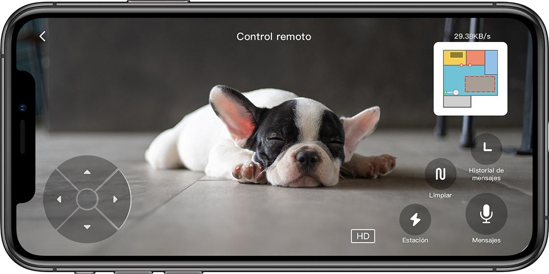 Roborock S6 MaxV - Control remoto