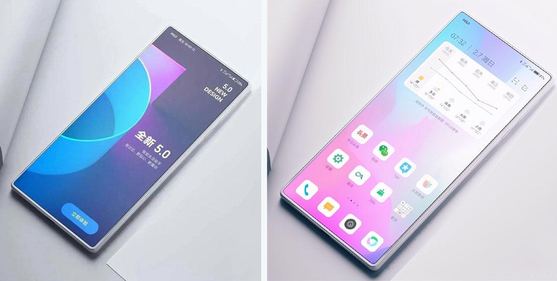 Xiaomi Mi MIX 4 - Renders