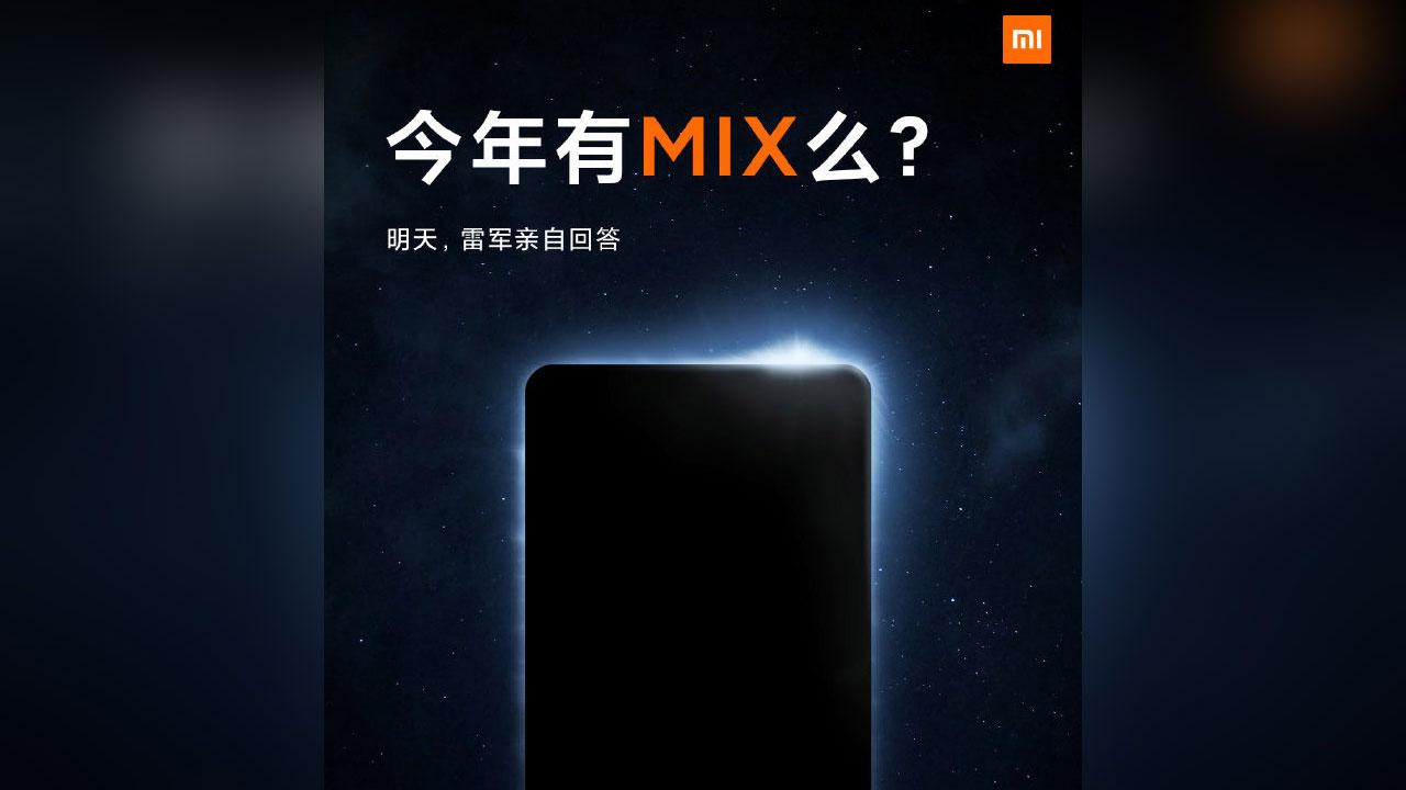 Xiaomi Mi MIX 4, el smartphone de pantalla completa hará su regreso en 2021