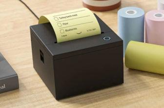 Amazon Smart Sticky Note Printer, mini impresora compatible con Alexa
